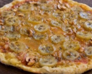 Pizza de Curry e Banana (1)
